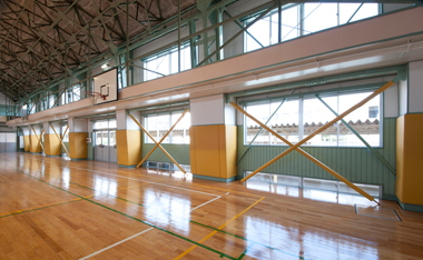 寒さ問題が解消できれば、体育館利用の幅はもっと広がる